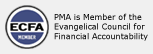 PMA is Member of the Evangelical Council for Financial Accountability